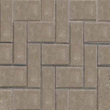 standard block paving natural